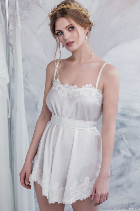 8b6383dd9c3 Bridal Camisole With Lace F8(Lingerie