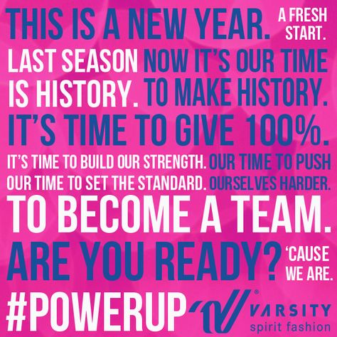 Motivational Quotes to Cheer Team | Varsity Sideline ...
