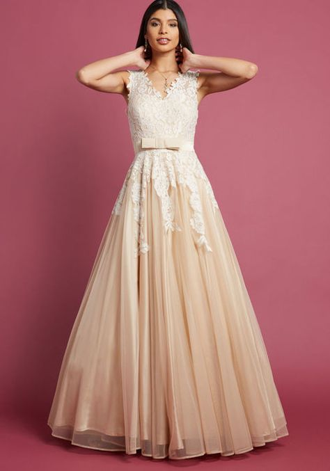 994fbb390ddb Memorable Magic Maxi Dress in Tea - Each ethereal detail of your special  day will be fondly remembered