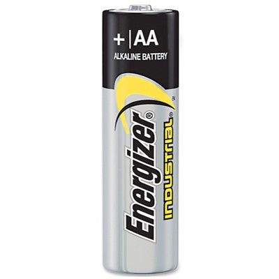 Click Now Energizer Aa Industrial En91 1 5v Alkaline Batteries 12 Pack Free Shipping Ebay Energizer Beverage Can