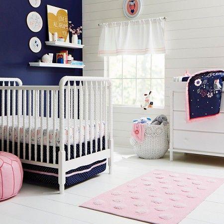 Navy Pink Nursery Room Target