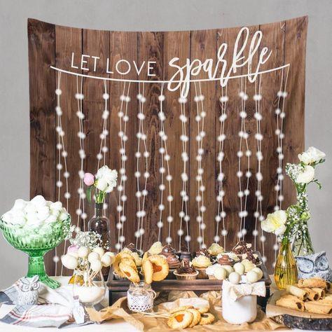 Rustic Wedding Decorations, Rustic Wedding Engagement Decor