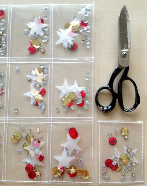 Best tutorial about how to make confetti pockets for PL. Step by step photos.