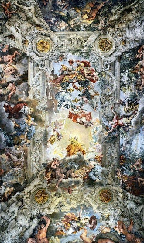 Bitchloe Farben Und Tapeten Kunst Hintergrund Barocke Malerei