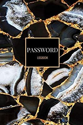 Password Logbook Gold Black Marble Email Password Organizer With Alphabetical Tabs Password Keeper Book Passcode Diary Food Journal Favorite Recipes Recipes