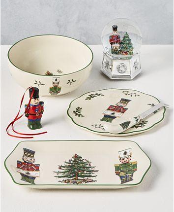 Spode Christmas Tree Nutcracker Dinnerware Collection Reviews Fine China Macy S Spode Christmas Tree Spode Christmas Classic Christmas Tree