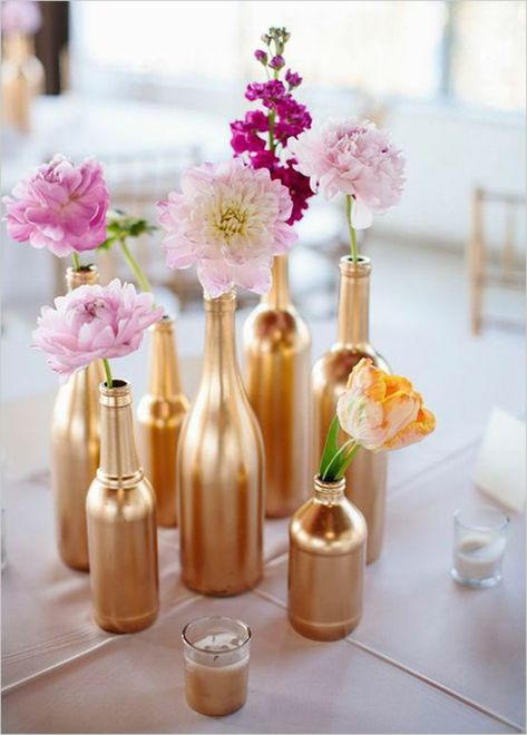 17 Homemade Wedding Decorations for Couples on a Budget Trying to cut down on your wedding expenses? Then look no further than our list of homemade wedding decorations Saving money on your wedding has never been this easy and creative!