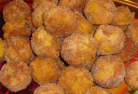 Receita Bolinhos Fritos de Abóbora | Doces Regionais
