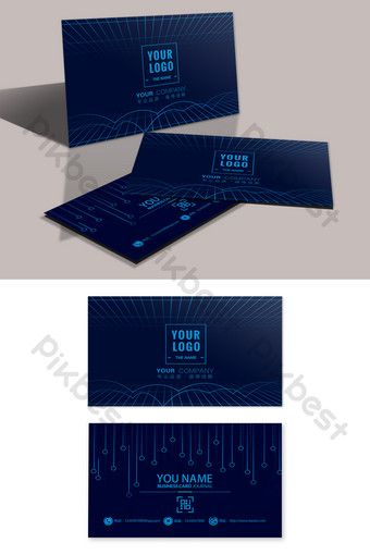 Cool Technology Sense It Company Programmer Business Card Psd Free Download Pikbest In 2020 Business Card Psd Free Business Card Design Creative Cool Technology