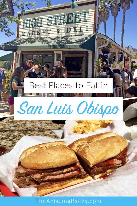 Where to Eat in San Luis Obispo
