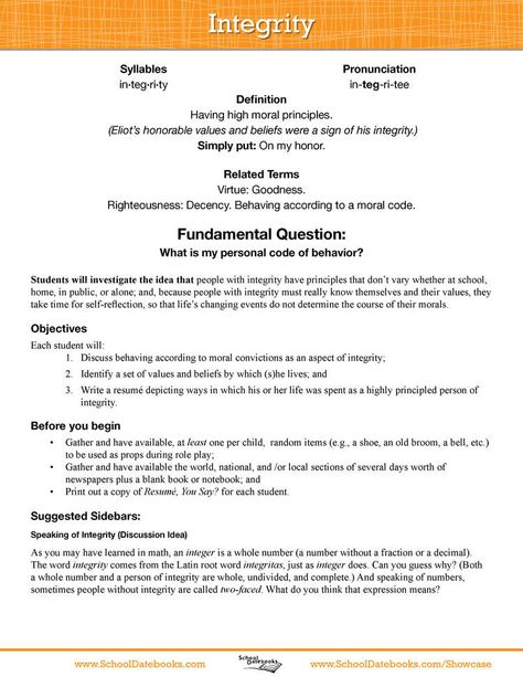 Optimism Character education Pinterest Optimism, Character - what objectives to put on a resume