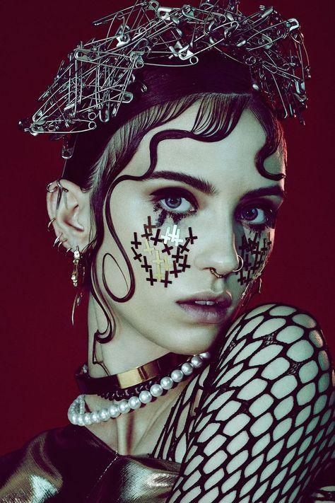 Tush Magazine Tattoos Piercings Beauty Editorial with model Cleo Cwiek | NEW YOR