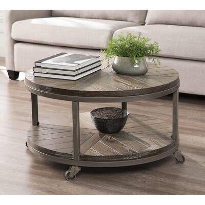 Eraman Coffee Table, Wayfair Round Coffee Table