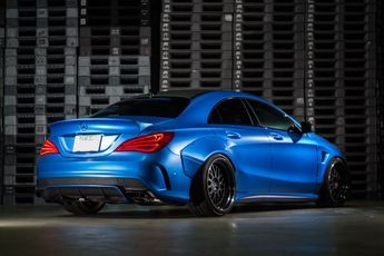 Mercedes-Benz CLA Gets The Wide-Body Treatment By Fairy Design [w/Video]