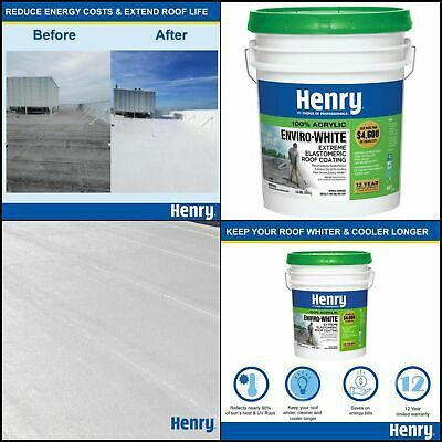 Sponsored Ebay Acrylic Reflective Roof Coating W Dirt Pick Up Resistance Technology 5 Gal In 2020 Roof Coating Elastomeric Roof Coating Roof