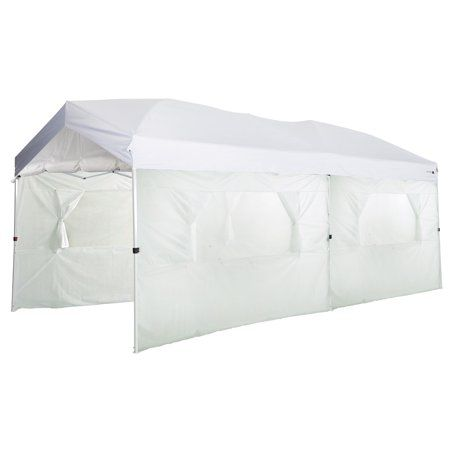 Ozark Trail 10x20 Straight Leg Instant Canopy Includes Carry Bag 6 Sidewalls Stakes And Tie Out Lines Walmart Com Instant Canopy Ozark Trail Canopy