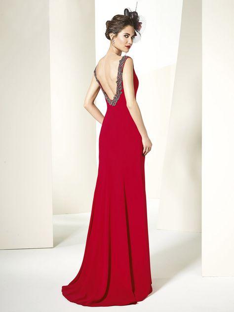 vestido de fiesta paloma camacho modelo 2798 - eva novias | madrinas
