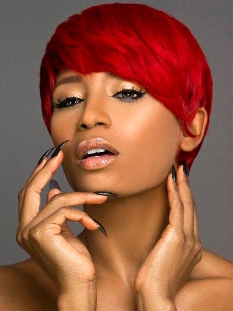 Bardzo Krótkie Czerwone Włosy Szukaj W Google Włosy