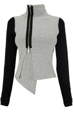 Interesting idea toupcycle - Karen Millen Jersey Knit Jacket great with sweats for a trendy chill out look Winter Fashion Outfits, Modest Fashion, Look Fashion, Autumn Fashion, Casual Outfits, Outfit Winter, Karen Millen, Fall Jackets, Knit Jacket