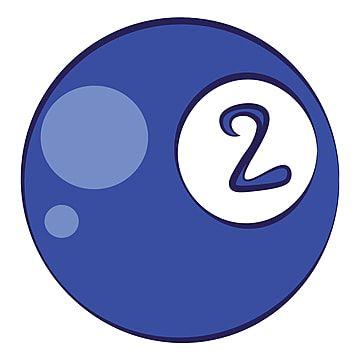 Ilustración De Color De Vector De Bola De Billar Número 2 Deportes Recreación Ocio Png Y Vector Para Descargar Gratis Pngtree En 2021 Bolas De Billar Juegos En Equipo Billares