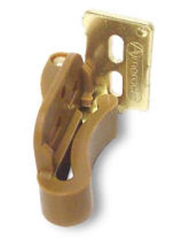 Amerock Cm2606 3 Bright Brass 1 2 Overlay Concealed Self Latching Knife Hinge Amerock Hinges Hinges For Cabinets