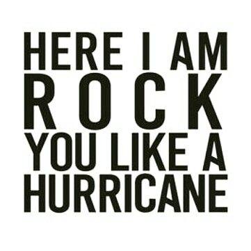 rock you like a hurricane lyrics