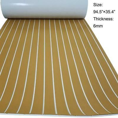 Sponsored Ebay Eva Foam Synthetic Teak Decking Sheet Boat Yacht Flooring 35 X 94 6mm Thick Yacht Flooring Teak Flooring Teak