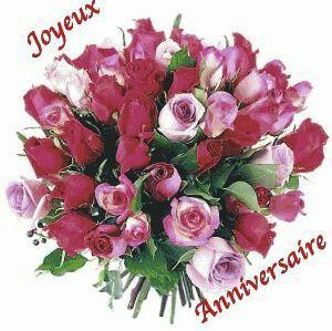 Epingle Sur Bouquet De Fleurs Anniversaire