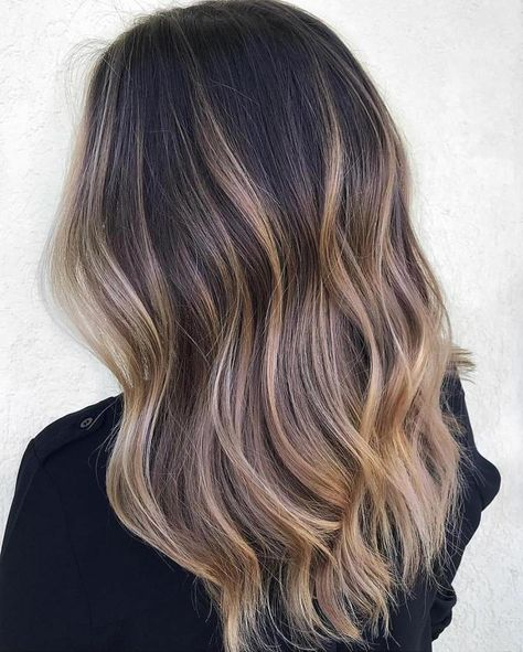 50 Beautiful Caramel Highlights Hairstyles You Need to Try ASAP, - All For Hair Color Trending Caramel Hair Highlights, Brown Hair Balayage, Brown Blonde Hair, Balayage Brunette, Light Brown Hair, Hair Color Balayage, Brunette Hair, Highlighted Hair For Brunettes, Brown Highlighted Hair