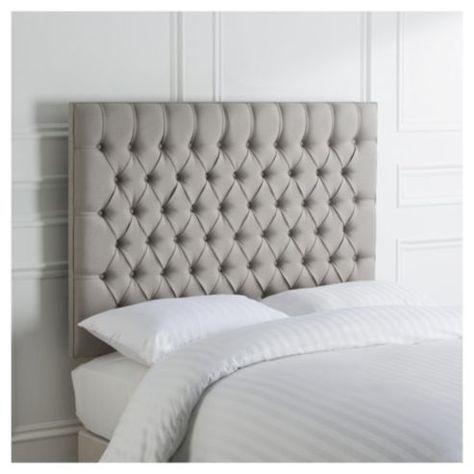 Henley Double Headboard Grey Linen Home Pinterest Linens And Bedrooms