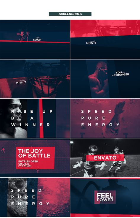 Extreme Sports Promo - After Effects Project Files | VideoHive