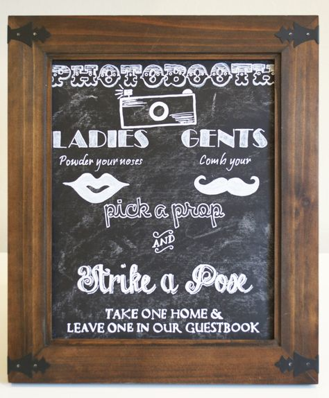 Diy Chalkboard Wedding Signs A Simple Hack Wedding Chalkboard