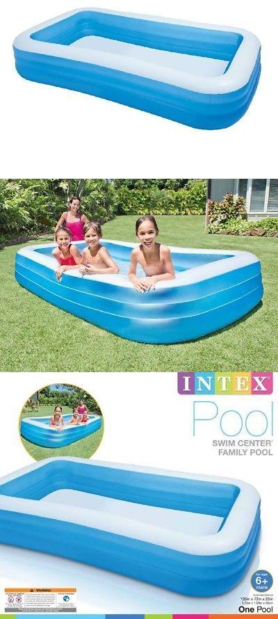 Inflatable And Kid Pools 116407 Intex Giant Inflatable Kiddie