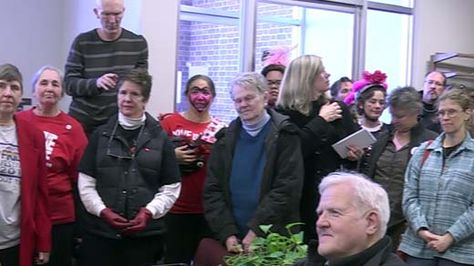 Activists (Including our very own Andre Hakes) Supporting Same-Sex Marriage Gather in Charlottesville - NBC29 WVIR Charlottesville, VA News, Sports and Weather  http://www.TGBLaw.com