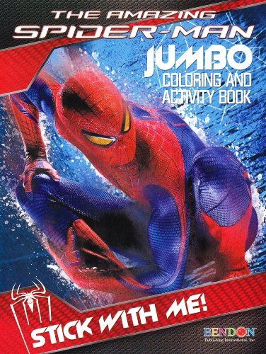 The Amazing Spiderman Movie Coloring And Activity Book 96 Pgs Cover Image Varies You Can Find Out More Deta Book Cover Art Book Activities Color Activities