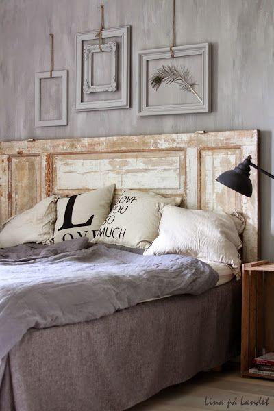 Viste Tu Cama Con Cabeceros A Tu Medida Dormitorios Decoraciones De Casa Respaldos De Cama
