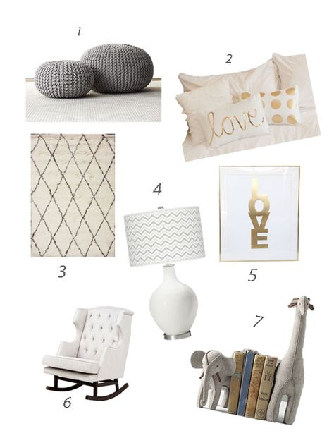 Nursery design moodboard by @Katie Meyers featuring Lamps Plus #colorplus