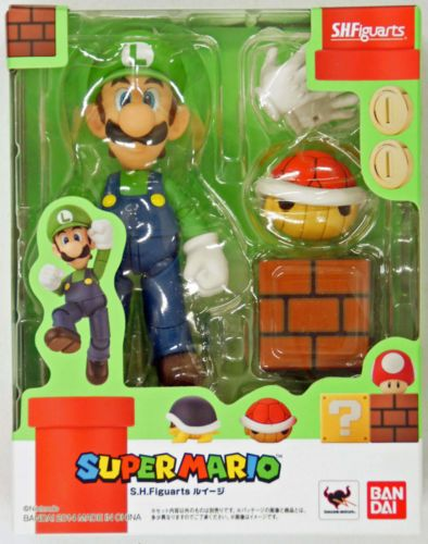 "Super Mario Brothers Bros 5/"" Action Figure Mario Collectible Kids Toy USA SELLER"