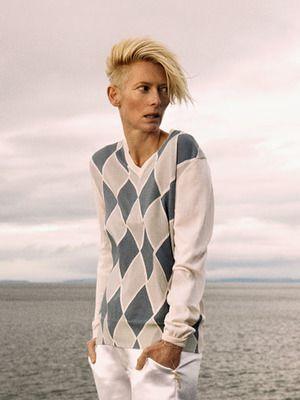 Tilda Swinton | Tilda swinton, Androgynous, Lesbian fashion