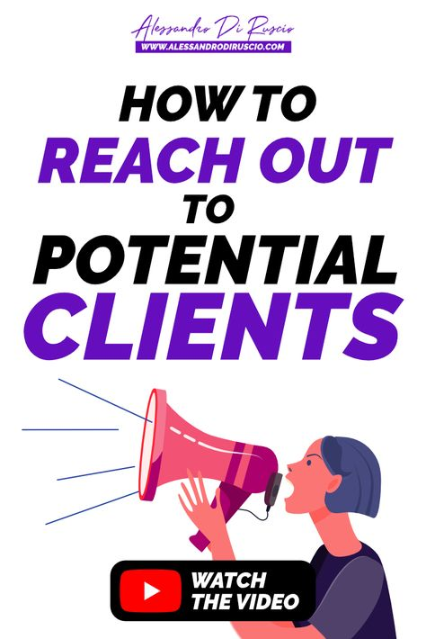 Do you want to know how to talk and how to reach out to potential clients? In this video I explain my strategy to approach freelance clients, and convince them to hire you. #getclients #brand #branding #selling #marketing #contentmarketing #sales #business #smallbusiness #entrepreneur #businesstips #goals #onlinepresence #findclients