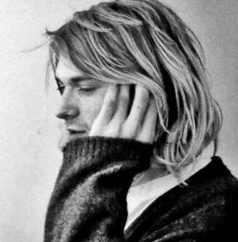 Kurt Cobain photographed c. November 1993 -