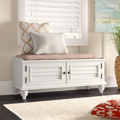 Beachcrest Home Harrison Wood Storage Bench Wayfair Storage Bench Seating Wood Storage Bench Storage Bench Bedroom