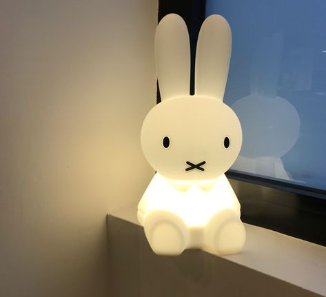 Lampe Veilleuse Lapin First Light Miffy Blanc Led 2700k