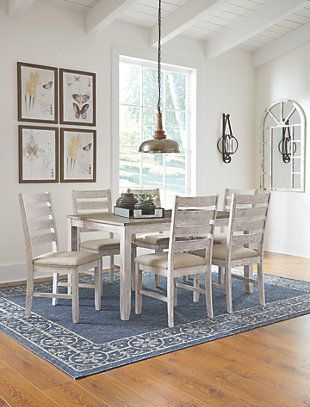 Skempton Dining Room Table And Chairs Set Of 7 Large Dining