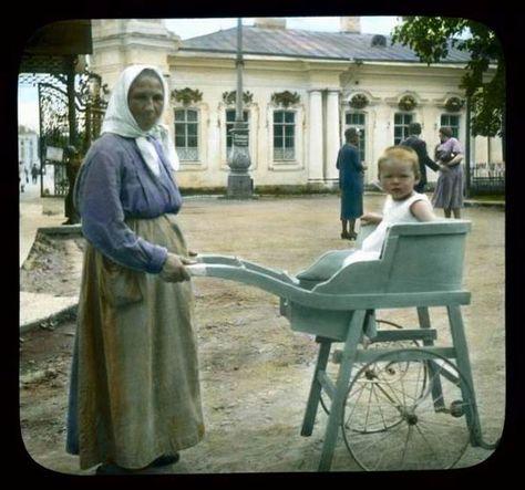 Dit waren de eerste kinderwagens met twee wielen