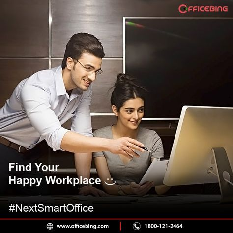 Choose to make your work life more interesting than just a stressful work. Choose to be happy with next smart office for your business #officebing !!! #NextSmartOfficeforYourBusiness    Fully Furnished | Fast Internet | Good Location | Parking Space      #Arihantaura #FunAtWork #HappySpace #NaviMumbai #SmartOffice #coworkingspace #servicedoffice #coworkings