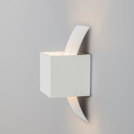 Badezimmer Wandleuchte Hana rund aluminium LED - lampenundleuchten