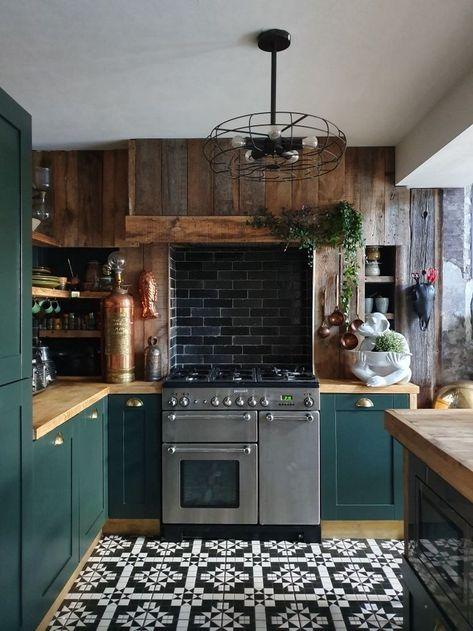 Choosing Green kitchen design ideas