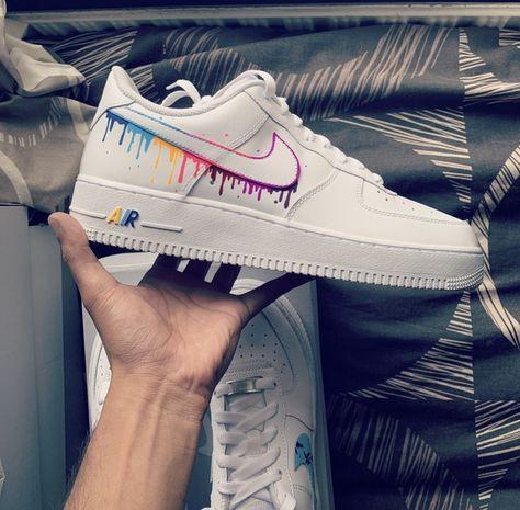 Nike Air Force 1 mulitColors by gueule_dangeee