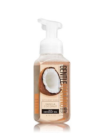 Vanilla Coconut Deep Cleansing Hand Soap By Bath Body Works